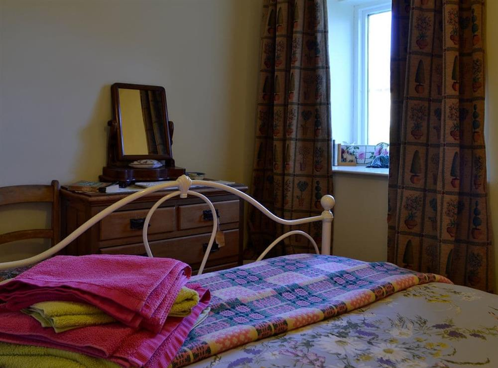 Relaxing and inviting double bedded room