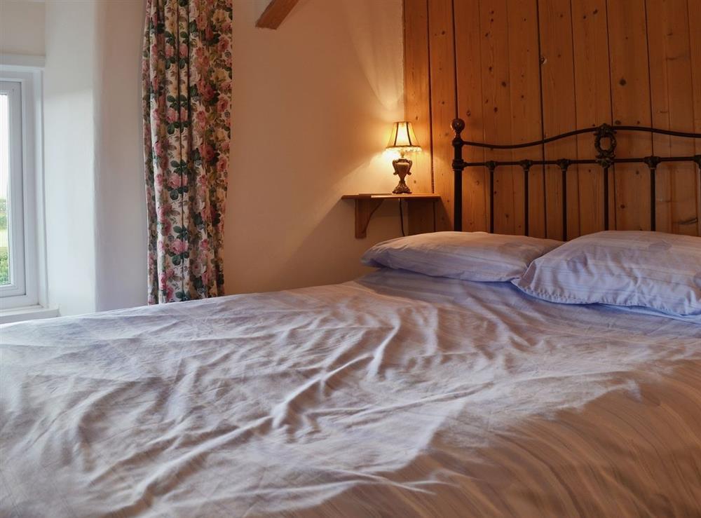Double bedroom at Llwyn Onn in Llangian, near Abersoch, Gwynedd