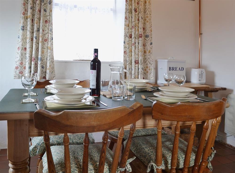 Kitchen/diner at Llwyn Onn in Llangian, near Abersoch, Gwynedd