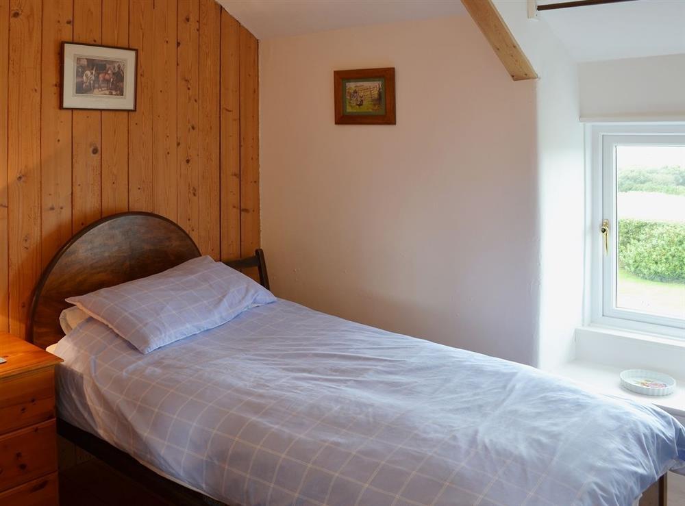 Single bedroom at Llwyn Onn in Llangian, near Abersoch, Gwynedd