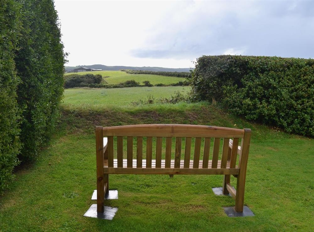 View at Llwyn Onn in Llangian, near Abersoch, Gwynedd