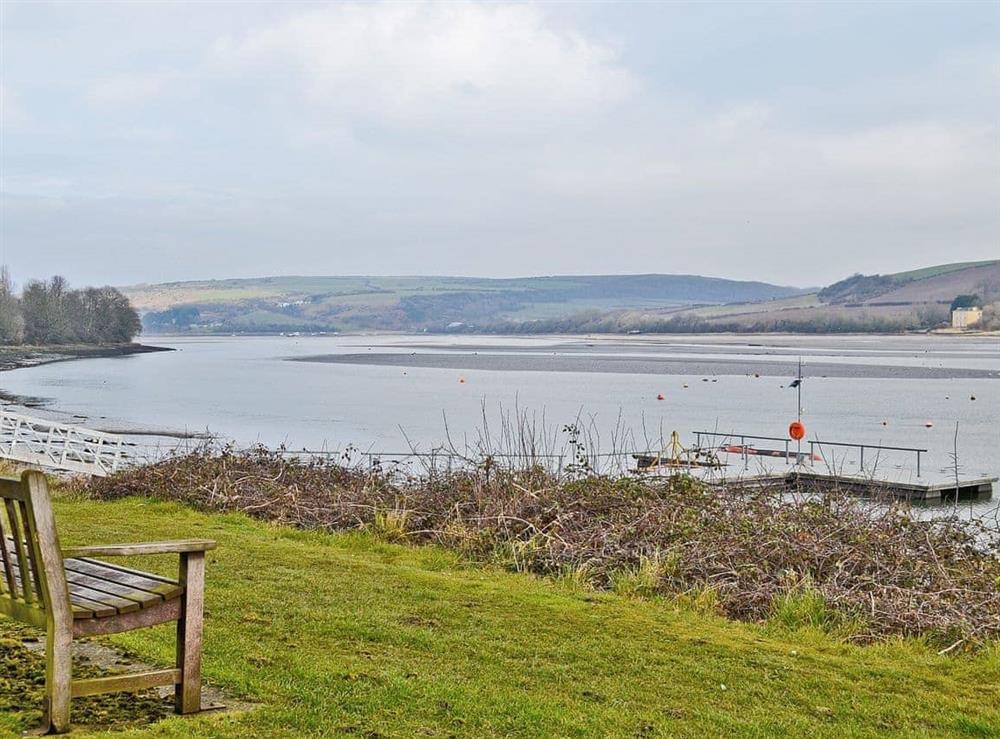 River Teifi at Llwynbedw in St Dogmaels, near Cardigan, Dyfed