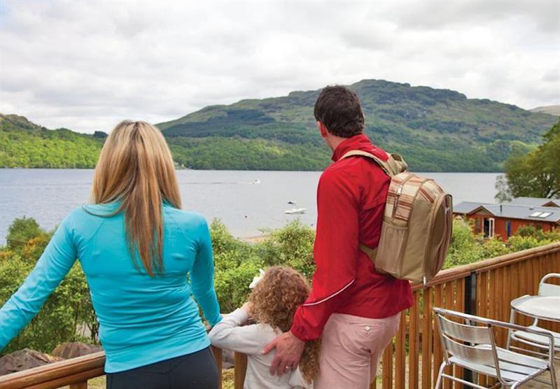 Views towards Loch Lomond at Loch Lomond Holiday Park in Inveruglas, Tarbet, Perthshire & Southern Highlands