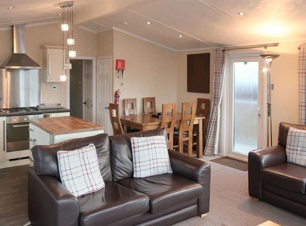 Convenient open-plan living space