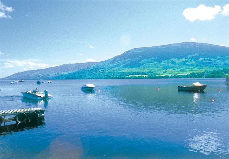Loch Earn (photo number 3) at Lochearnhead Loch Side in Perthshire, Scotland