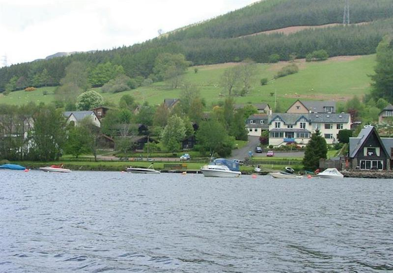The park setting (photo number 5) at Lochearnhead Loch Side in Perthshire, Scotland