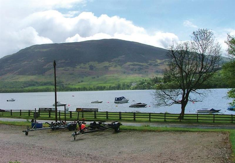 The park setting (photo number 6) at Lochearnhead Loch Side in Perthshire, Scotland