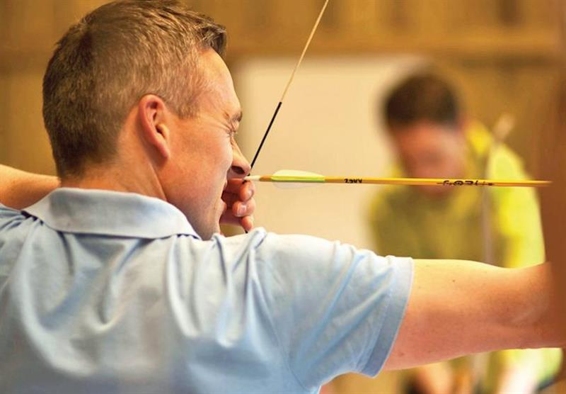 Archery at Lochgoilhead Lodges in Lochgoilhead, Perthshire & Southern Highlands