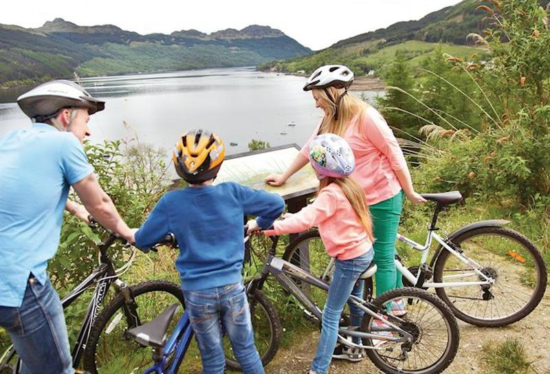 Cycling at Lochgoilhead Lodges in Lochgoilhead, Perthshire & Southern Highlands