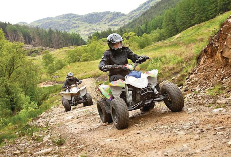 Quad biking at Lochgoilhead Lodges in Lochgoilhead, Perthshire & Southern Highlands