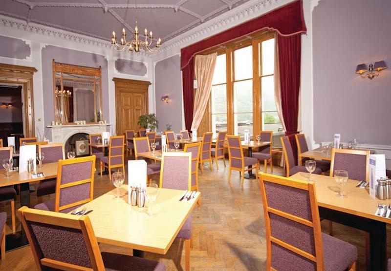 Restaurant at Lochgoilhead Lodges in Lochgoilhead, Perthshire & Southern Highlands
