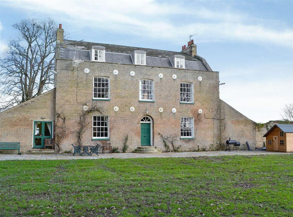 Large hall, full of character at Lode Hall in Three Holes, near Downham Market, Norfolk