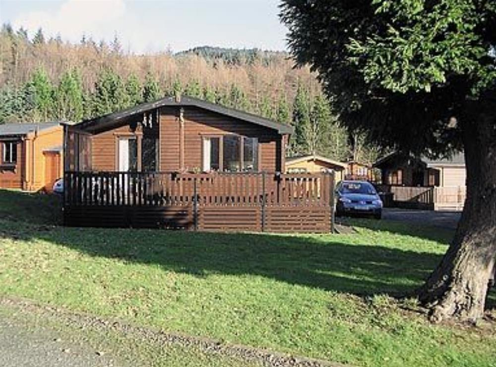 Exterior at Loganberry Lodge in Rowardennan, Lanarkshire