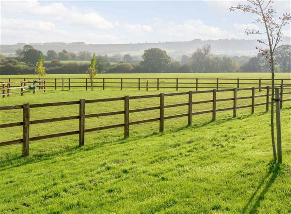 Beautiful views across the Wiltshire countryside at The Bull Pen 2,