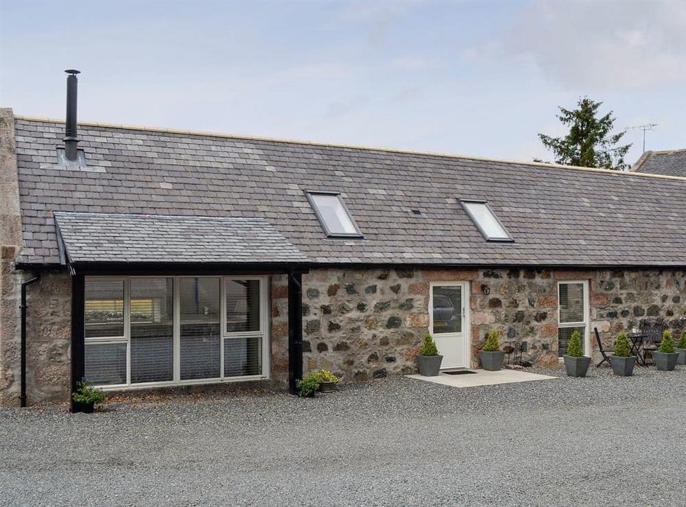 Exterior at Longcroft Dairy in Oyne, near Inverurie, Aberdeenshire