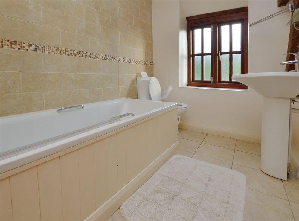 Bathroom at Lovage Cottage in Kingswear, Nr Dartmouth, South Devon., Great Britain