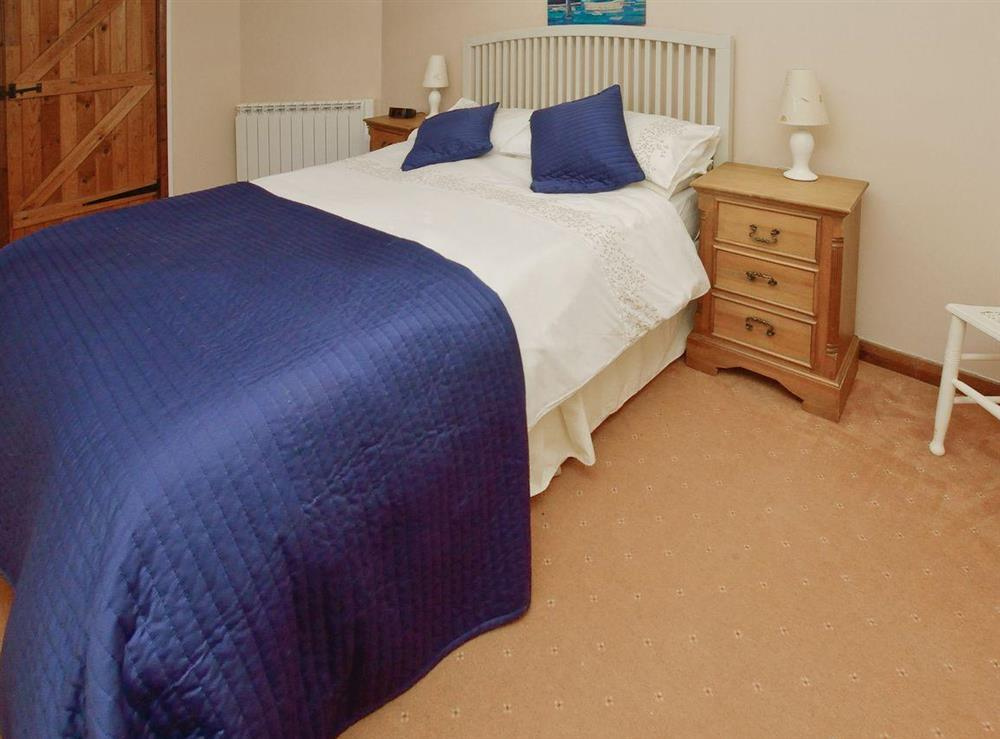 Double bedroom at Lovage Cottage in Kingswear, Nr Dartmouth, South Devon., Great Britain