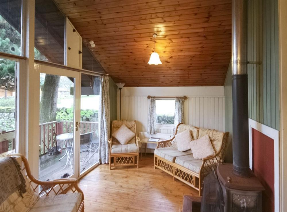 Living room at Reiver Lodge,