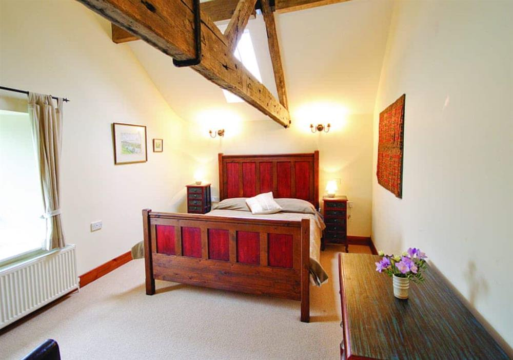 Low Farm Barn double bedroom at Low Farm Barn in Beccles, Suffolk