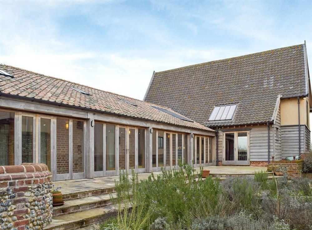 Stunning detached listed barn conversion at Low Farm Barn in Laxfield, Suffolk