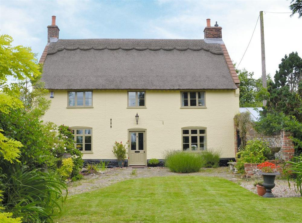 Charming, Grade II listed, thatched property at Low Farm Cottage in Blofield, near Norwich, Norfolk