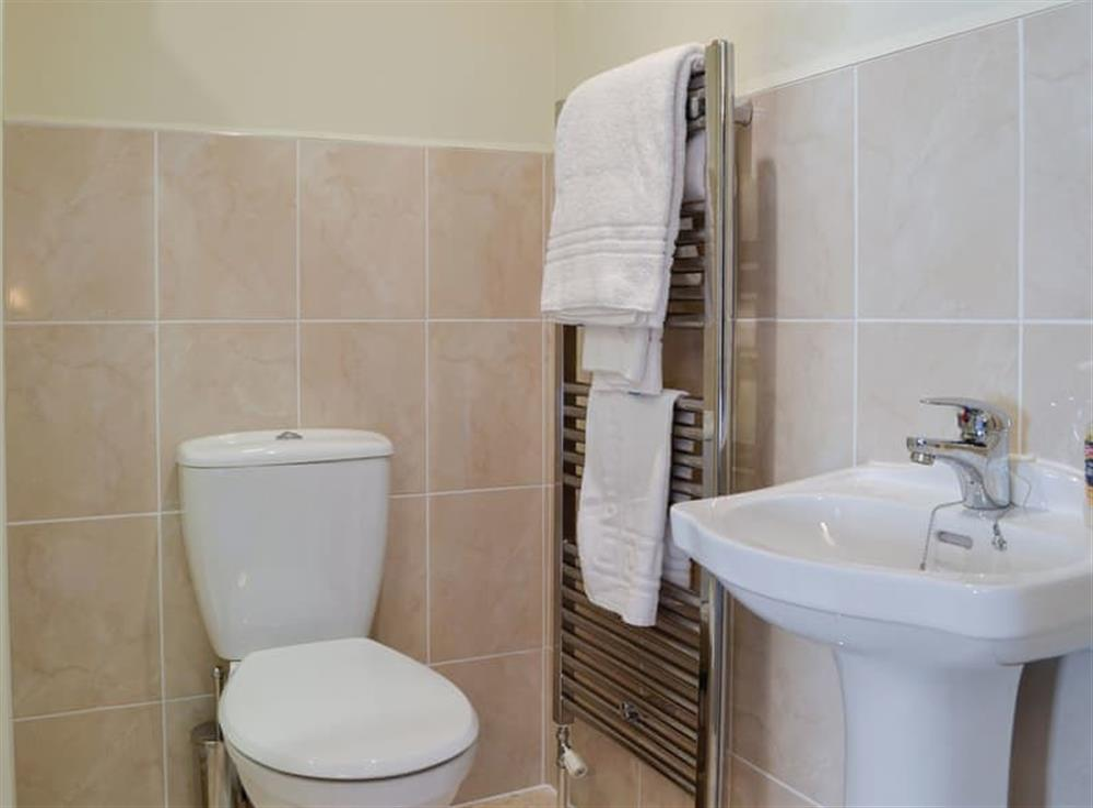 En-suite with heated towel rail