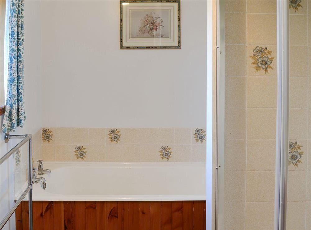 Bathroom at Lower Brae in Strath Oykel, by Ardgay, Highlands, Ross-Shire