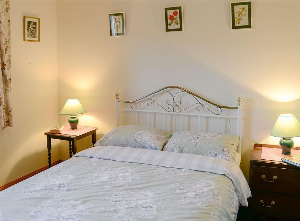 Comfortable double bedroom at Lower Brae in Strath Oykel, by Ardgay, Highlands, Ross-Shire