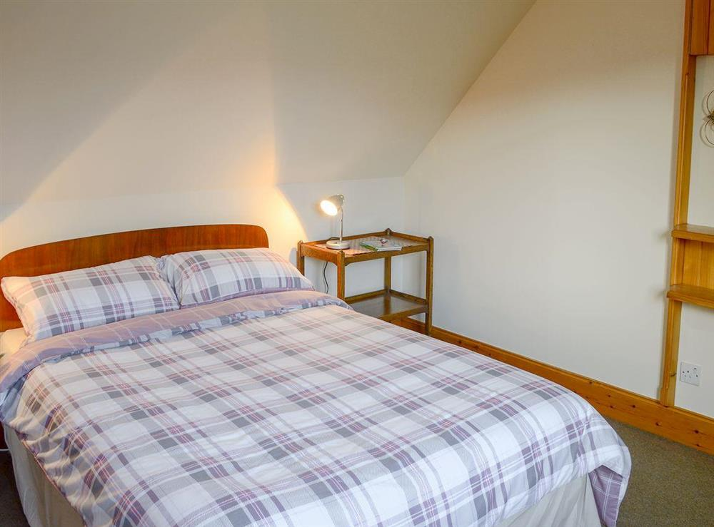 Comfy double bedroom at Lower Brae in Strath Oykel, by Ardgay, Highlands, Ross-Shire