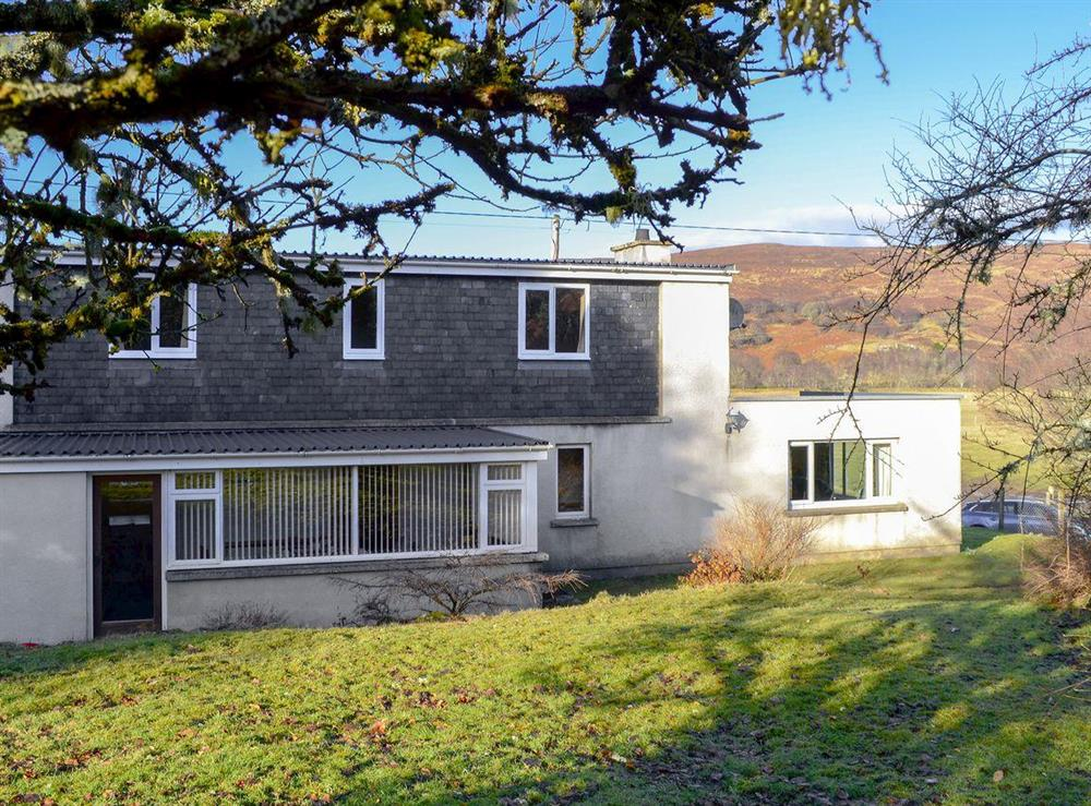 Delightful holiday home at Lower Brae in Strath Oykel, by Ardgay, Highlands, Ross-Shire