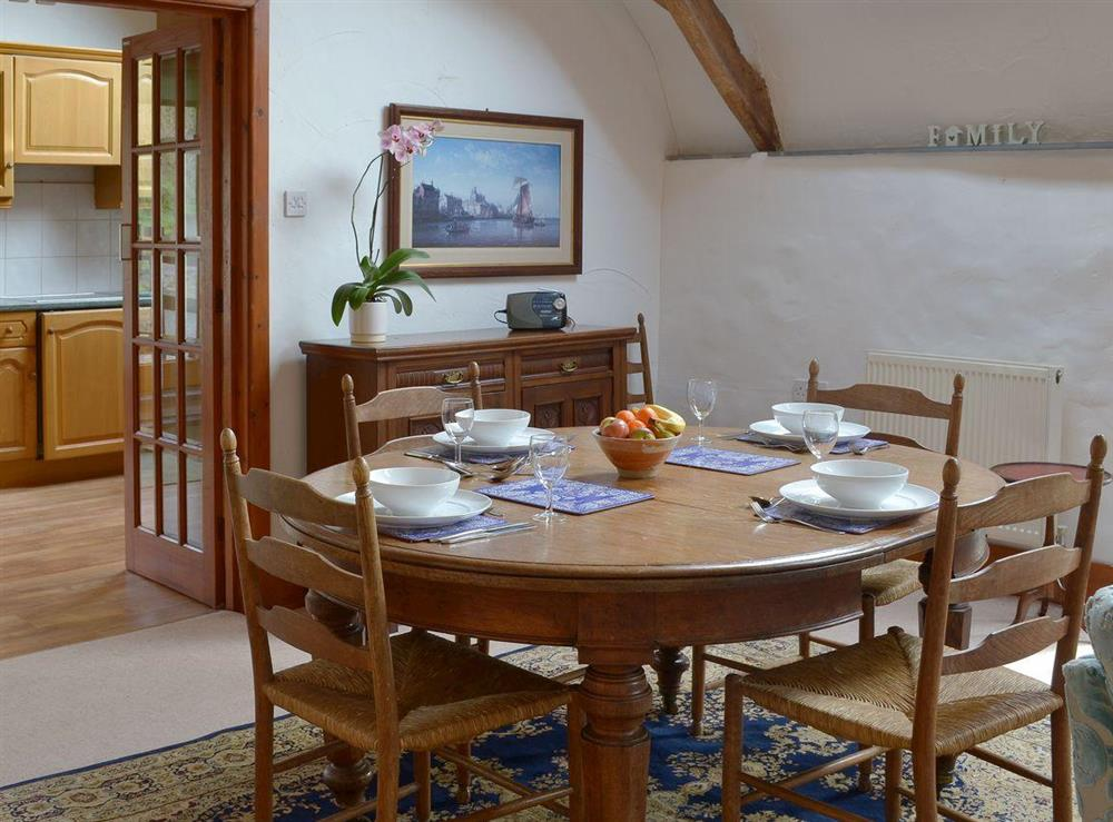 Ideal dining area at The Byre,