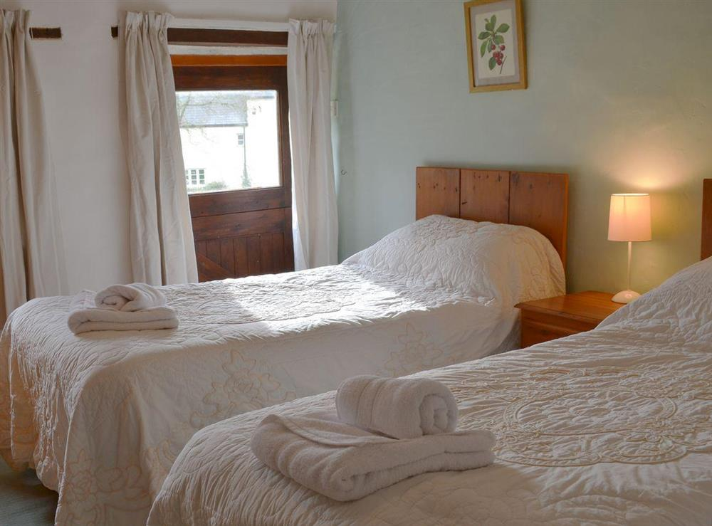 Twin bedroom at The Byre,