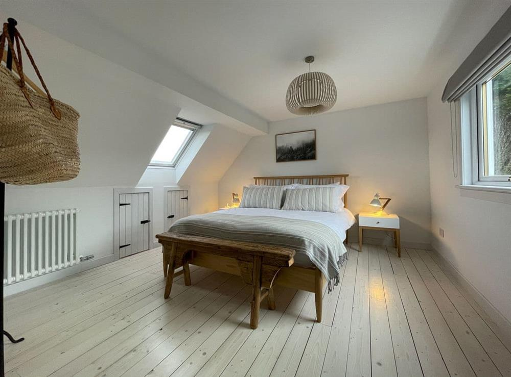 Double bedroom (photo 2) at Lower Hilton Cottage in Culrain, Lairg, Ross-Shire