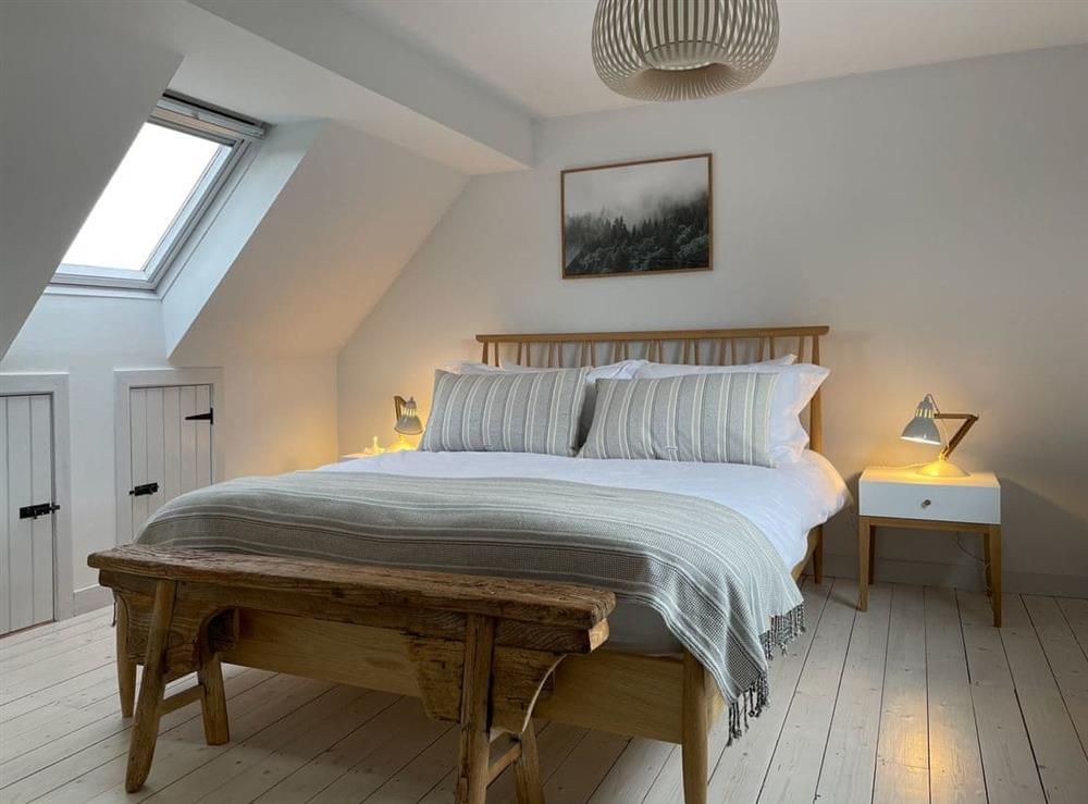 Double bedroom (photo 3) at Lower Hilton Cottage in Culrain, Lairg, Ross-Shire