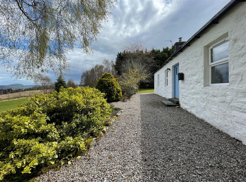 Exterior at Lower Hilton Cottage in Culrain, Lairg, Ross-Shire