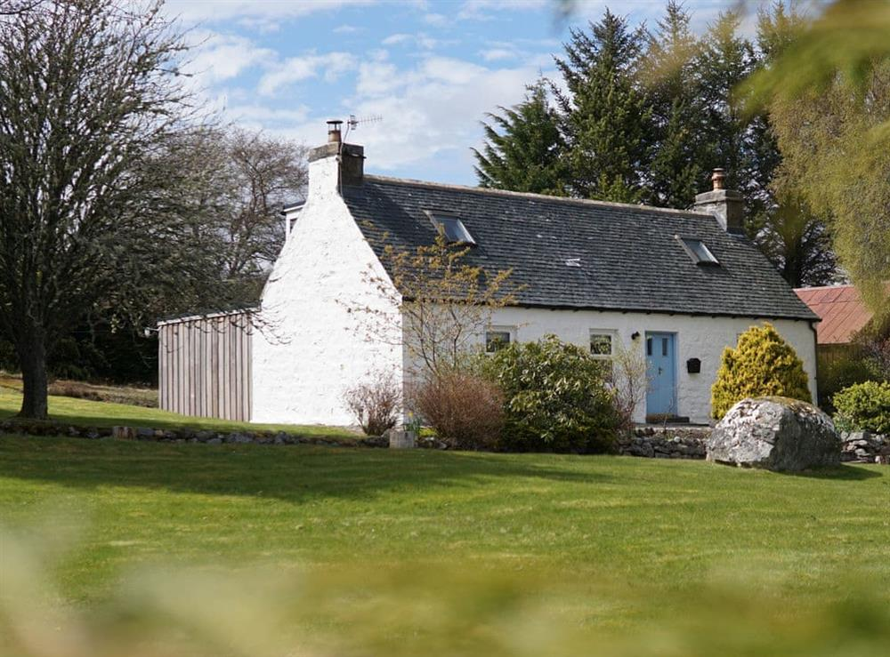 Garden (photo 3) at Lower Hilton Cottage in Culrain, Lairg, Ross-Shire