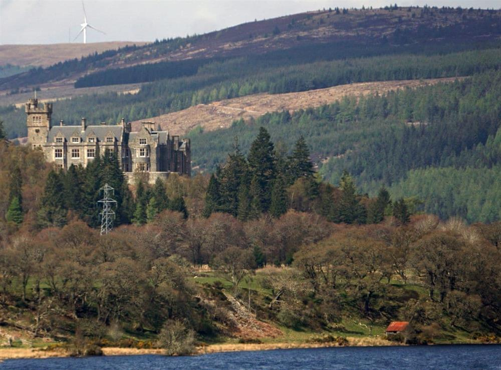 Surrounding area at Lower Hilton Cottage in Culrain, Lairg, Ross-Shire