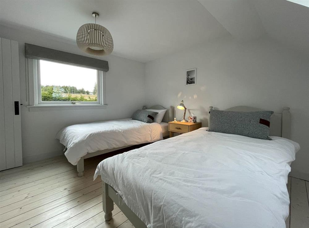 Twin bedroom (photo 2) at Lower Hilton Cottage in Culrain, Lairg, Ross-Shire