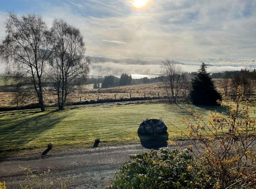 View at Lower Hilton Cottage in Culrain, Lairg, Ross-Shire