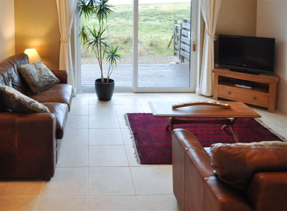Welcoming living room at Lurach Appartment,