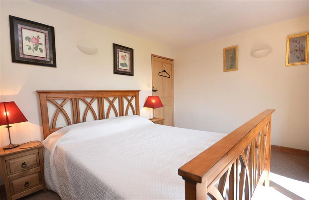 Another view of the second double bedroom at Lydiard Cottage, Loddiswell