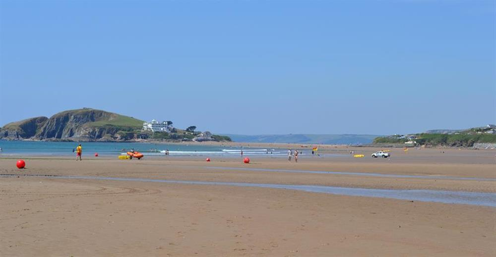 Nearby Bantham beach  at Lydiard Cottage, Loddiswell