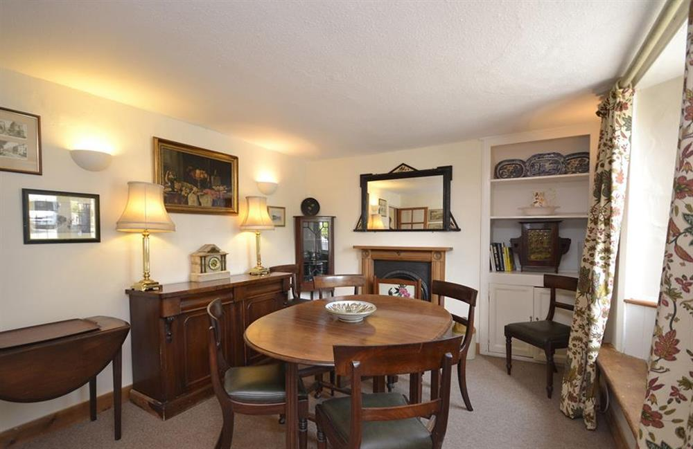 The dining room at Lydiard Cottage, Loddiswell