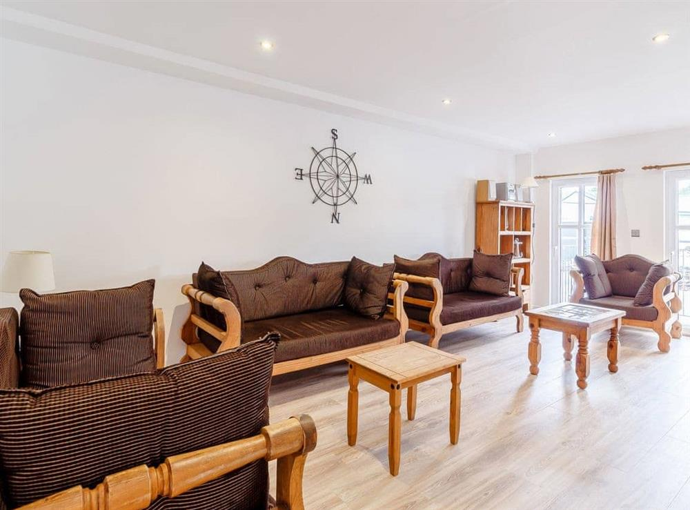 Living room at Main Sail in Wroxham, Norfolk
