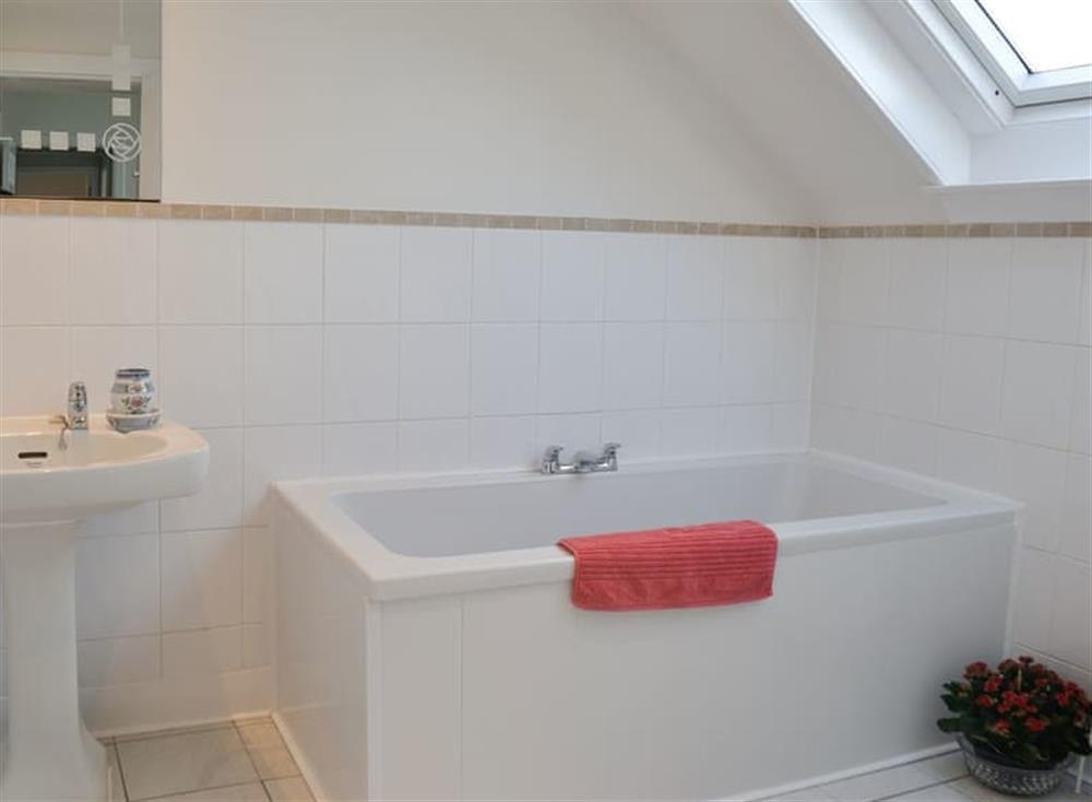 Bathroom at Mainslea in Dunure, near Ayr, Ayrshire