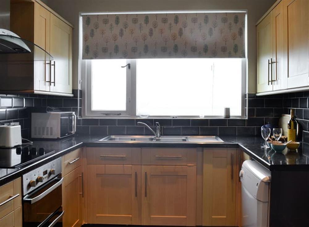 Kitchen at Mainslea in Dunure, near Ayr, Ayrshire