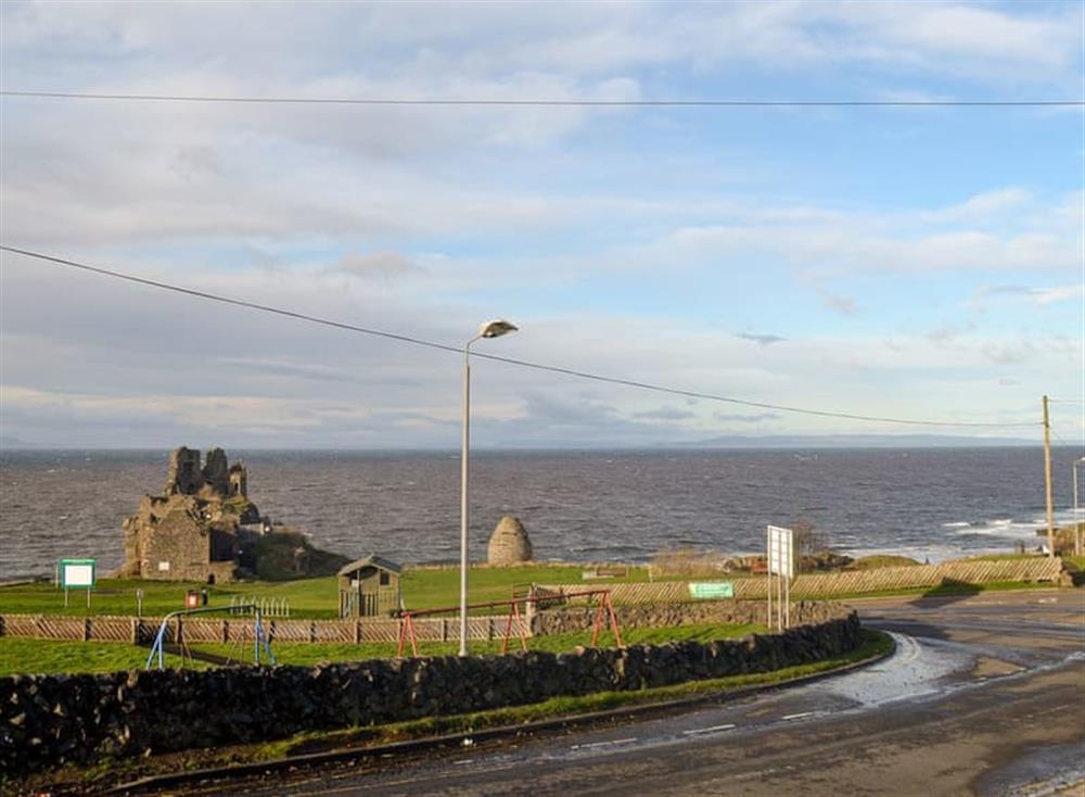 View at Mainslea in Dunure, near Ayr, Ayrshire