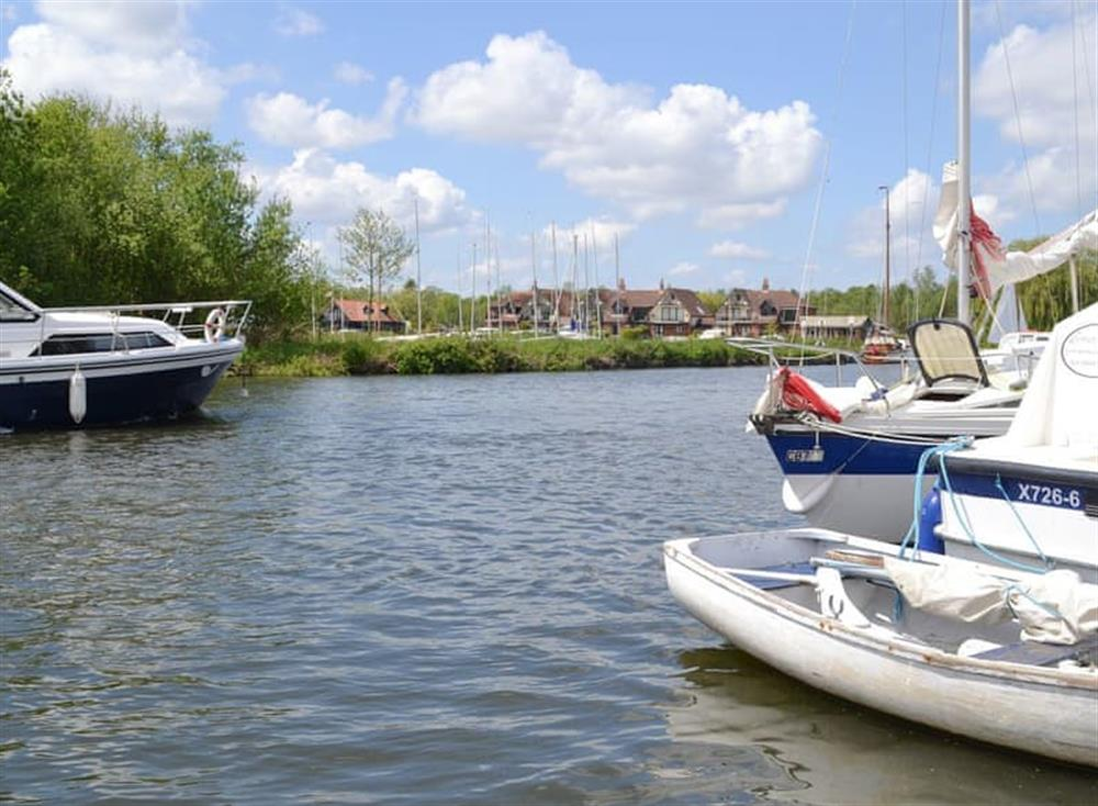 Beautiful surrounding area at Maisies Cottage in Horning, near Norwich, Norfolk
