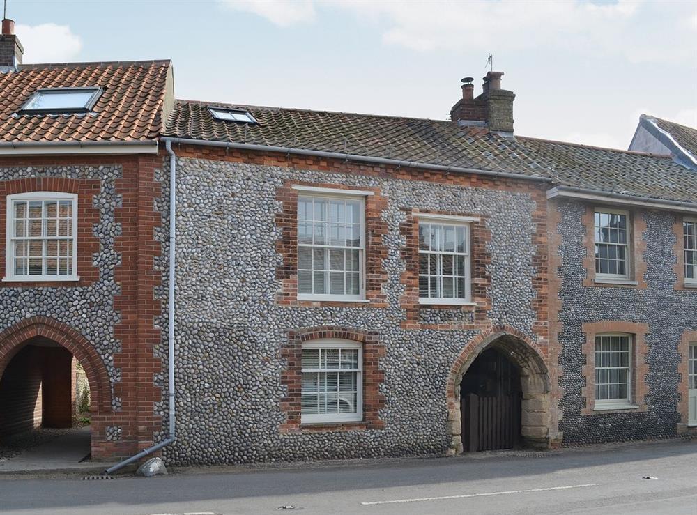 Exterior at Maison du Quai in Cley-next-the-Sea, Norfolk