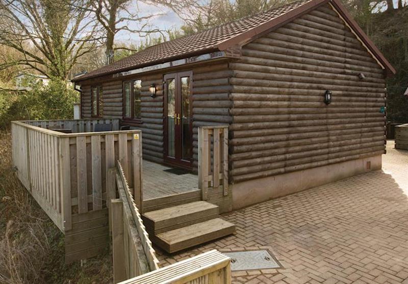 Log Cabin 2 at Manleigh Park in Combe Martin, Devon
